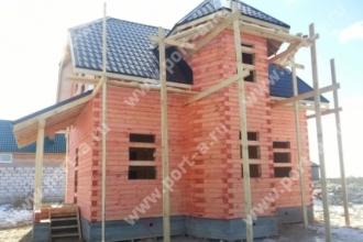 Строим дома по проекту Кураж в Порт-А-Групп